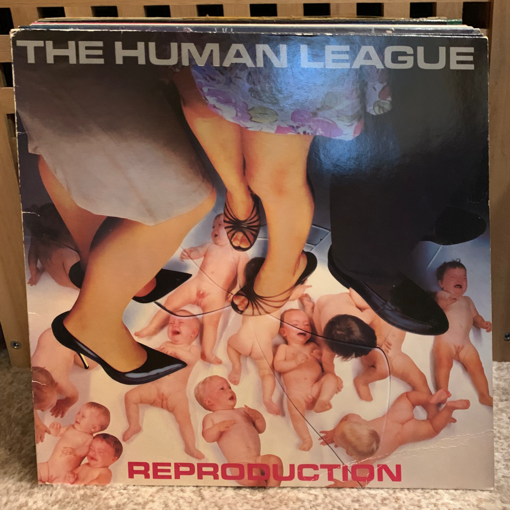 A Challenge: 30 Platten in 30 Tagen / 30 records in 30 days Human League Reproduction