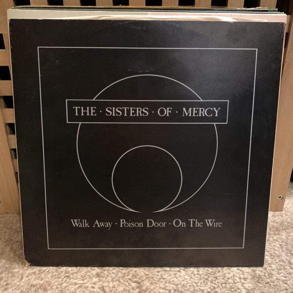 A Challenge: 30 Platten in 30 Tagen / 30 records in 30 days Sisters of Mercy, Walk away