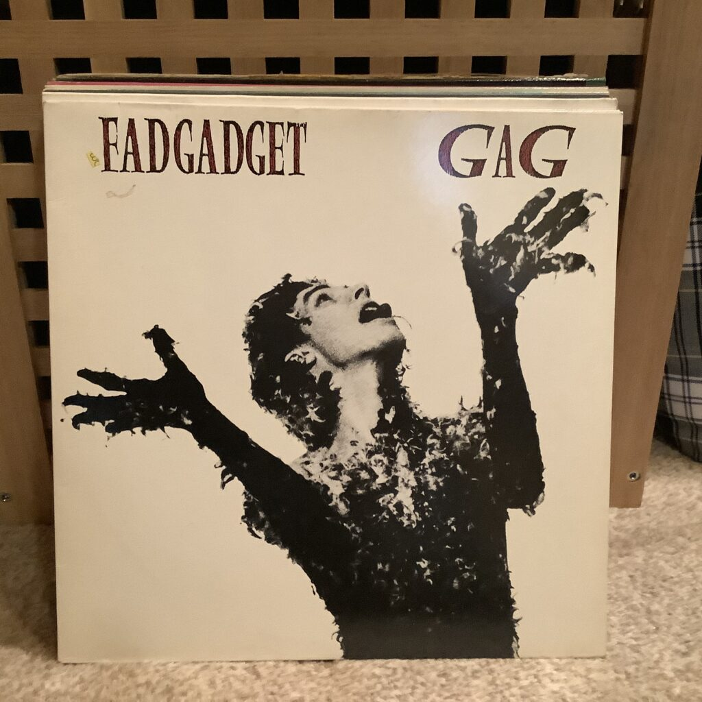 A Challenge: 30 Platten in 30 Tagen / 30 records in 30 days Fad Gadget, Gag