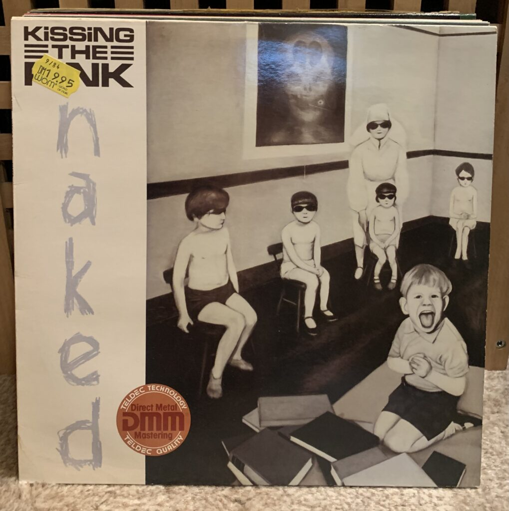 A Challenge: 30 Platten in 30 Tagen / 30 records in 30 days - Kissing the Pink, Naked