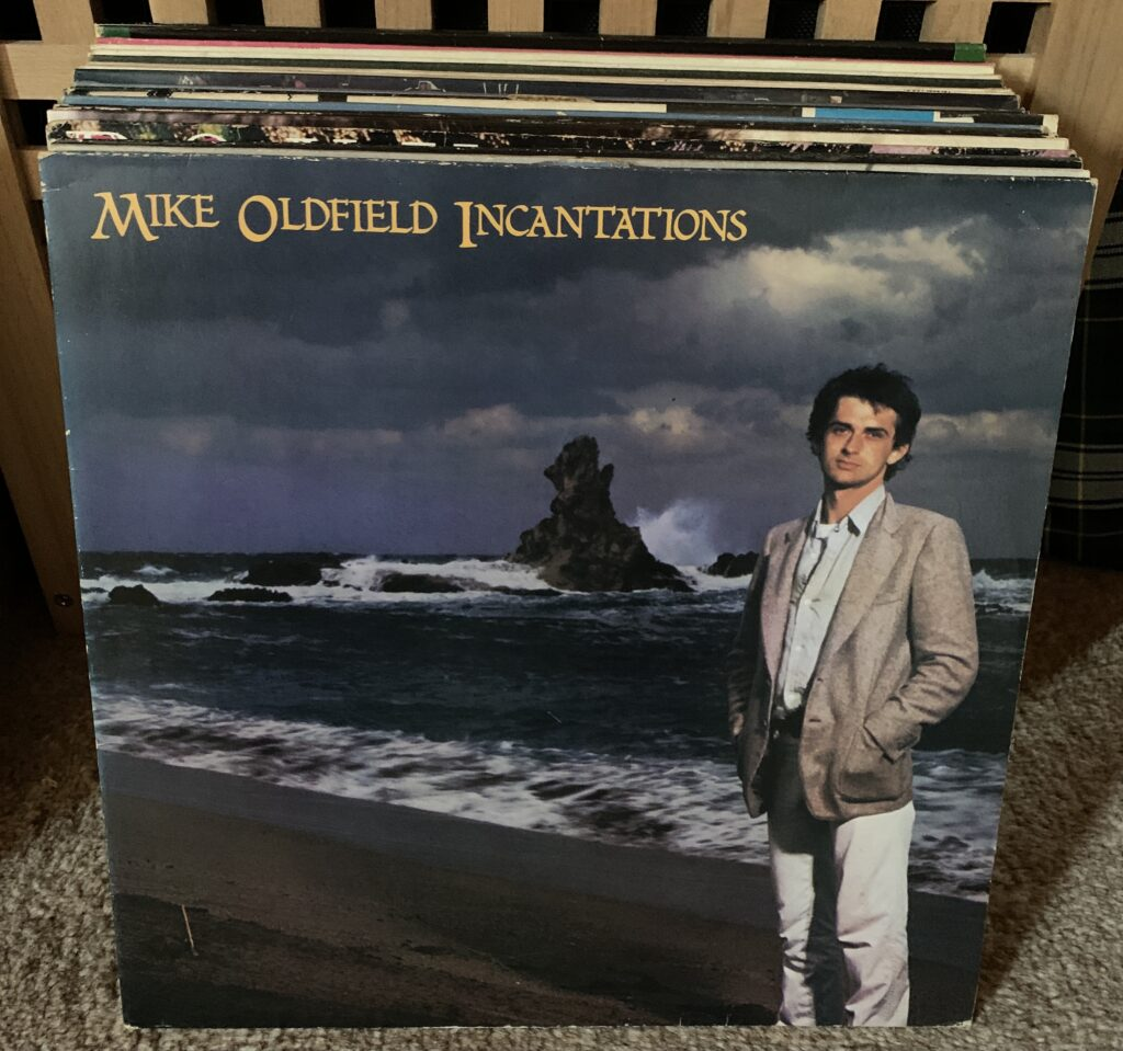 30 Tage, 30 Platten / 30 days, 30 vinyls day 3: Mike Oldfield, Incantations