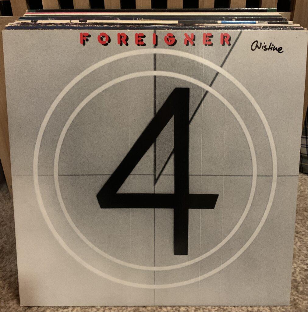 30 Platten in 30 Tagen/ 30 days, 30 vinyls, Tag 4: Foreigner 4