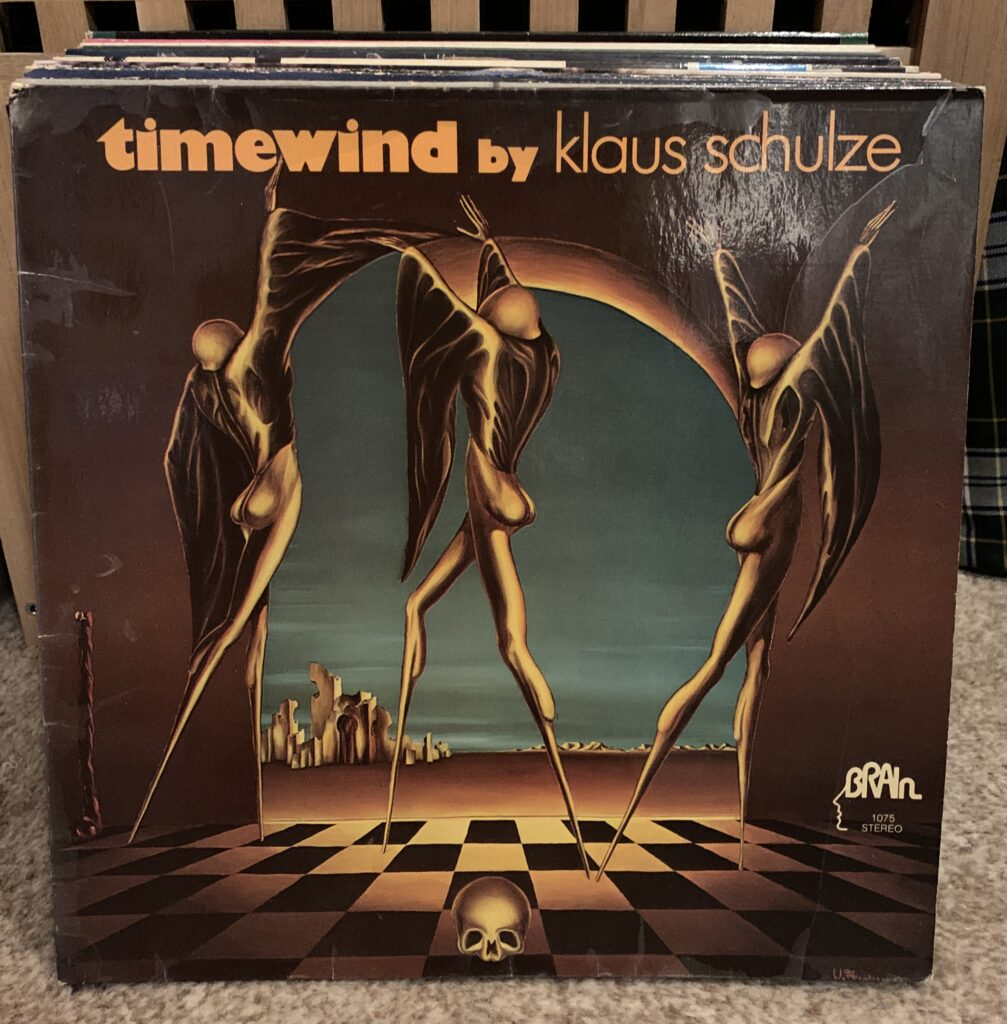 30 records in 30 days from 2 collections from one household, day 1: Timewind by Klaus Schulze