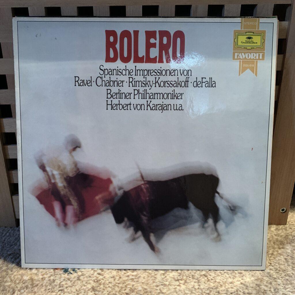 A Challenge: 30 Platten in 30 Tagen / 30 records in 30 days Herbert von Karajan, Bolero