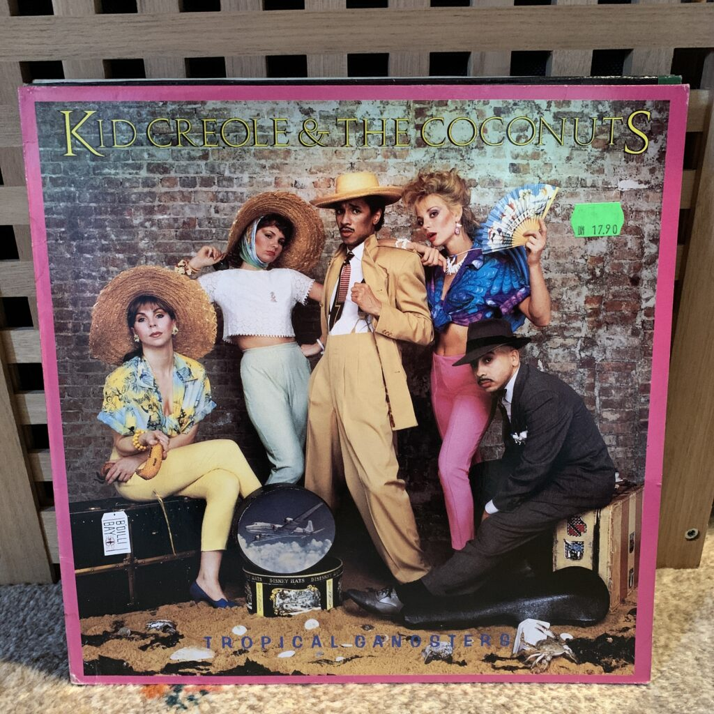A Challenge: 30 Platten in 30 Tagen / 30 records in 30 days Kid Creole and the Coconuts, Tropical Gangsters