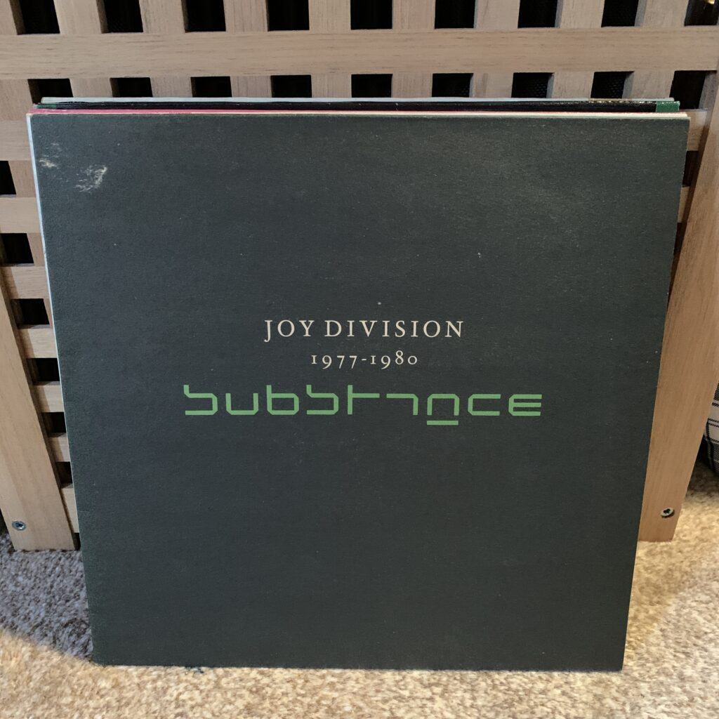 A Challenge: 30 Platten in 30 Tagen / 30 records in 30 days Joy Division, Substance