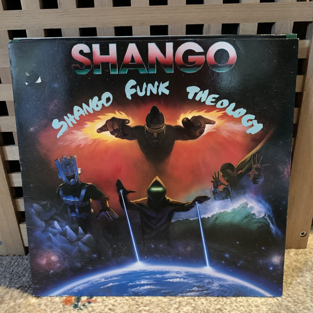 A Challenge: 30 Platten in 30 Tagen / 30 records in 30 days Shango, Shango Funk Theology