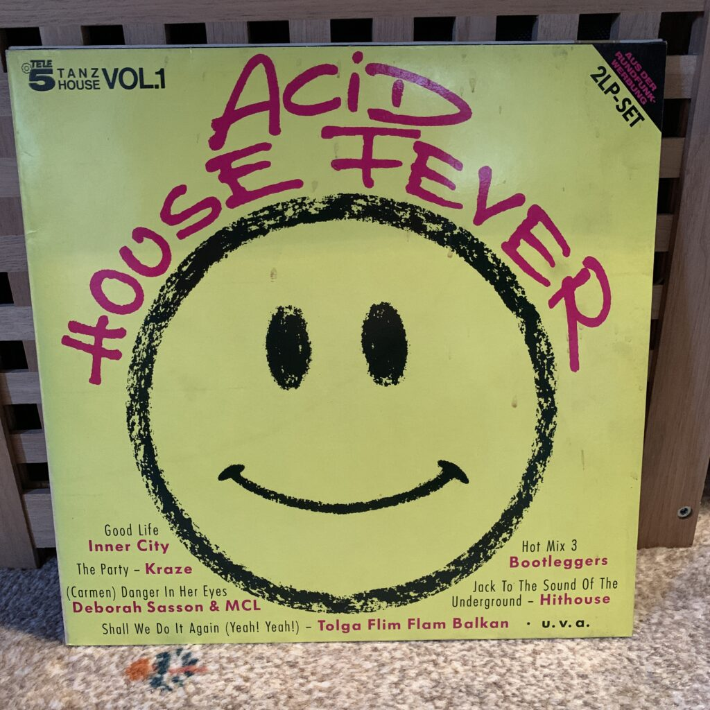 A Challenge: 30 Platten in 30 Tagen / 30 records in 30 days Acid House Fever