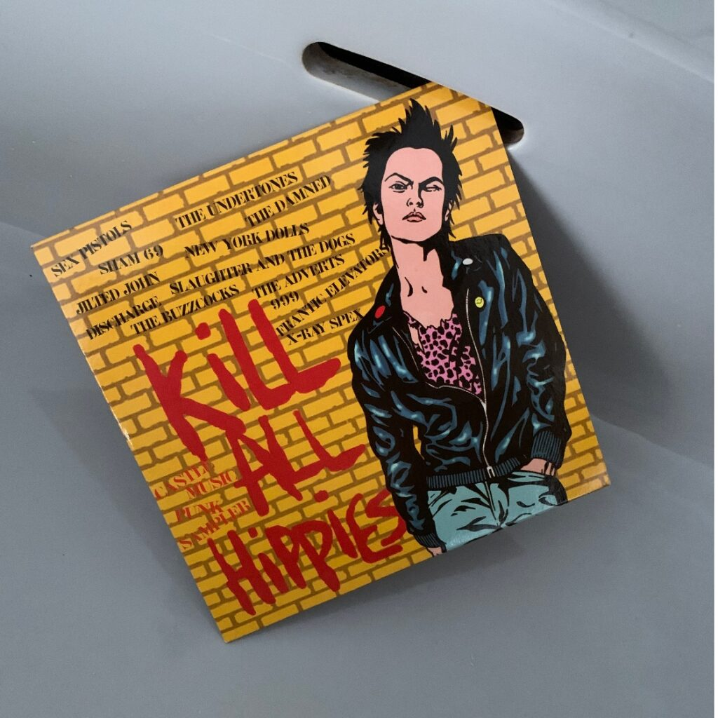 One Track or Album per Week, Number 12: Kill all the Hippies. Punk-Sampler.